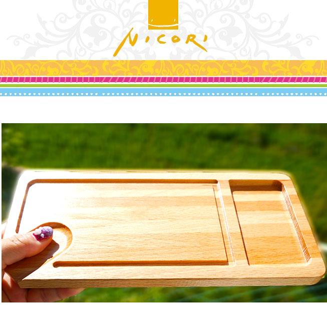 mokurieito製 BBQ用木製プレート