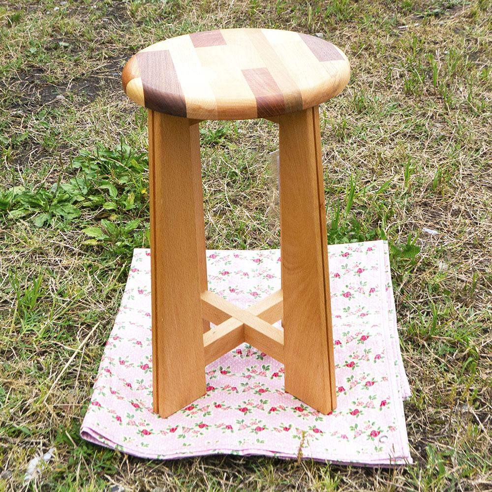 家庭科室の木の椅子 mokurieito製